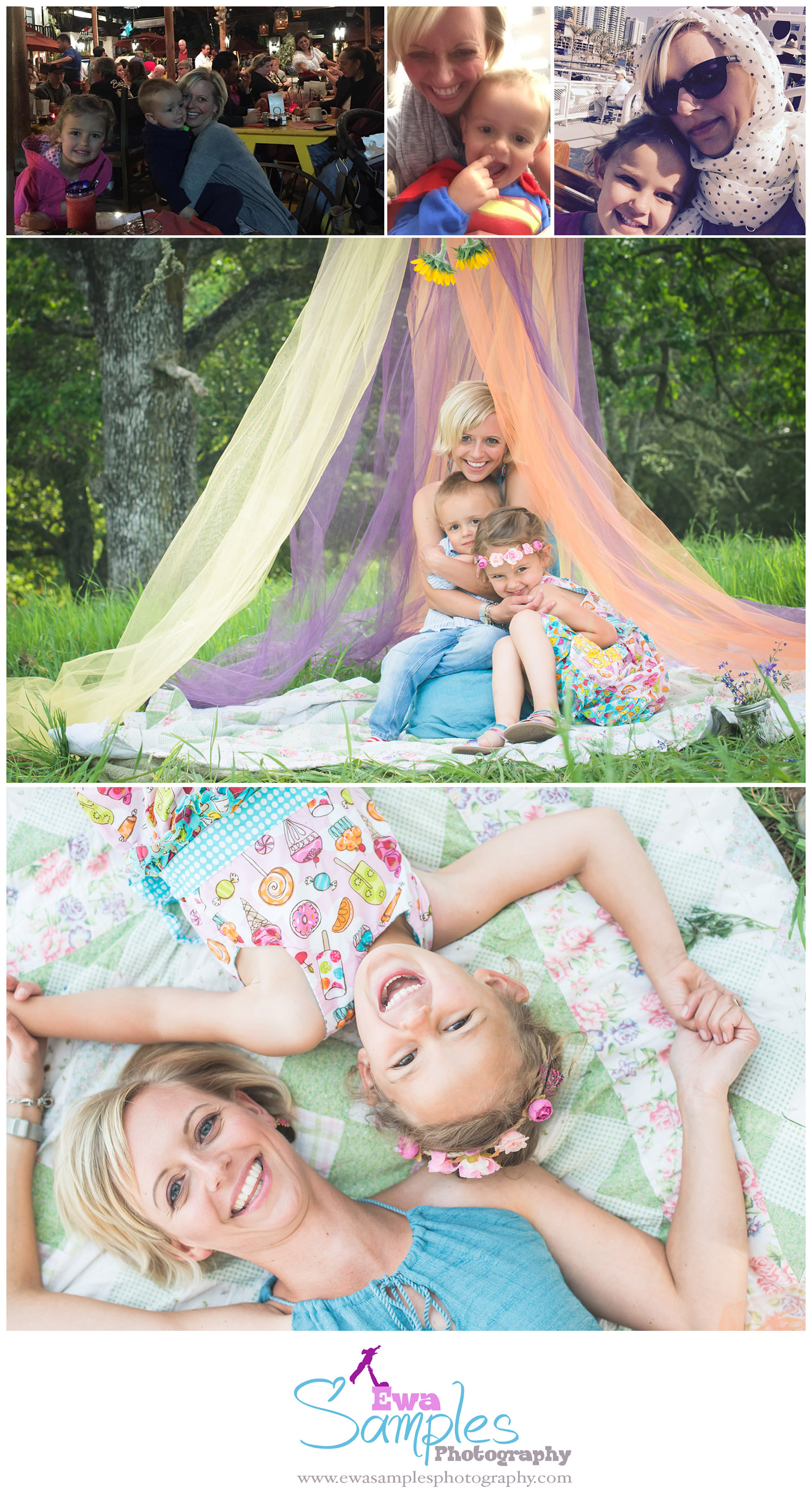 Mother's Day Mini Session, Ewa Samples Photography