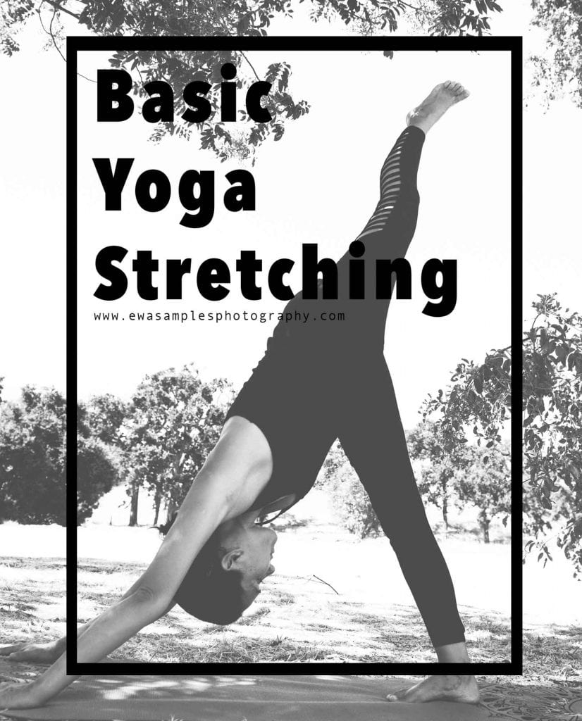 basic yoga stretching