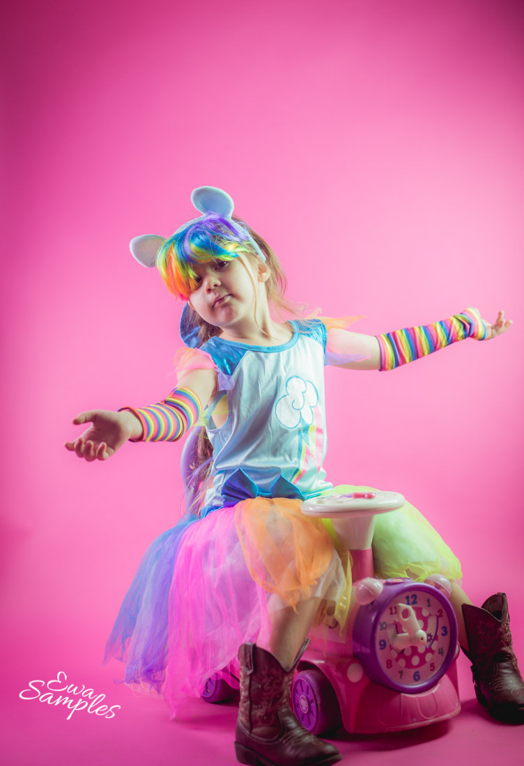 san jose creative kids photographer colorful and fun studio