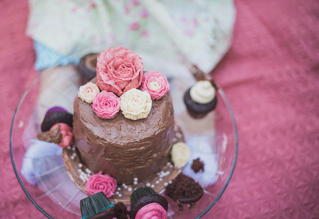 saratoga smash cake, bay area smash cake photographer, ewa samples