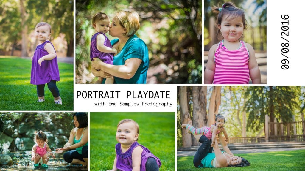 portrait playdate with San Jose Family Portrait Photographer