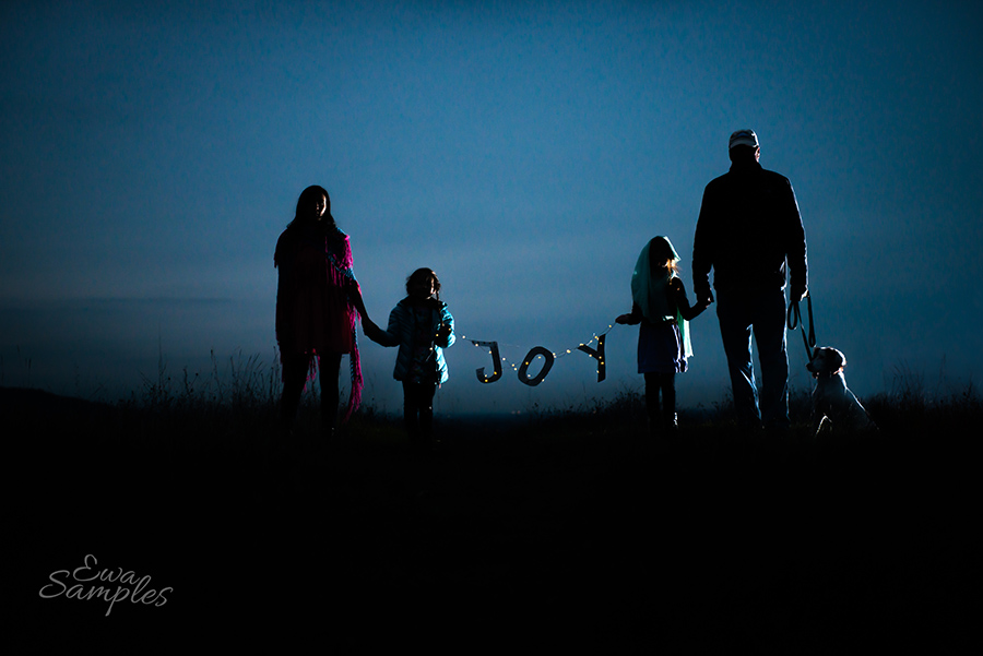 Holiday Mini Sessions San Jose Silhouette Ewa Samples Photography