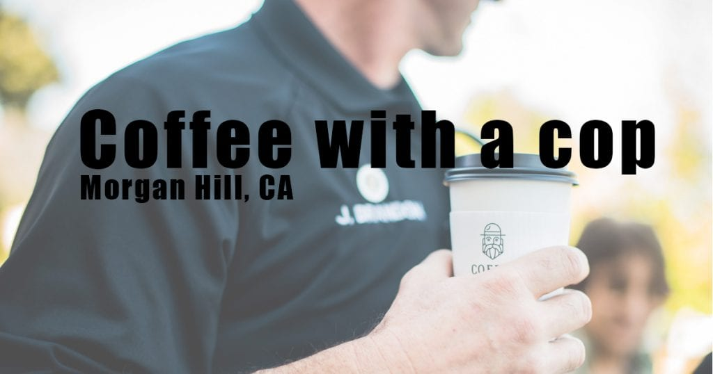 coffee with a cop, morgan hill, ewa samples photography
