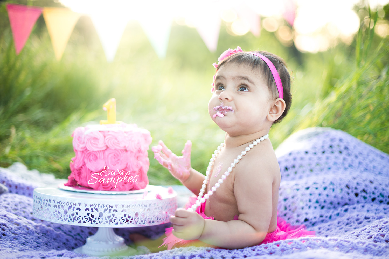 San Jose Cake Smash Photographer Archives Ewa Samples Portrait