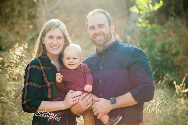 Saratoga Fall Family Session || Ewa Samples Photography