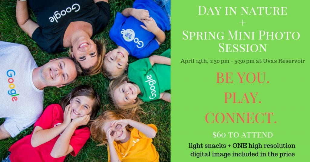 Spring Family Mini Session for Googlers