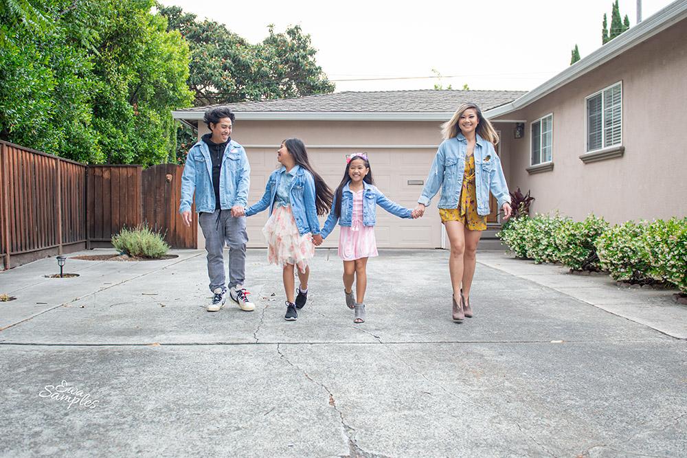 front porch mini session _ Ewa Samples Photography _ San Jose Family Photographer