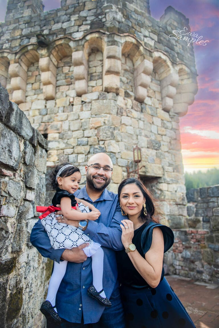 anniversary family session Castello Di Amorosa Bay Area Photographer