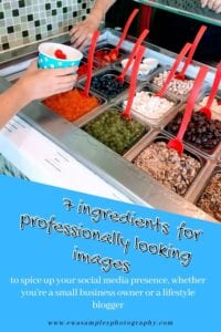 7 ingredients for professionally looking images