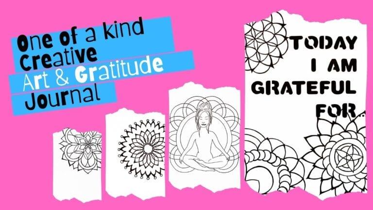 Gratitude & Art Journal