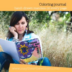 Coloring journal Ewa Samples