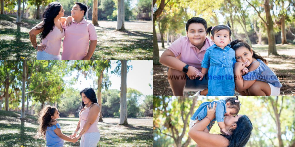 fall mini session - sunnyvale - collage for website